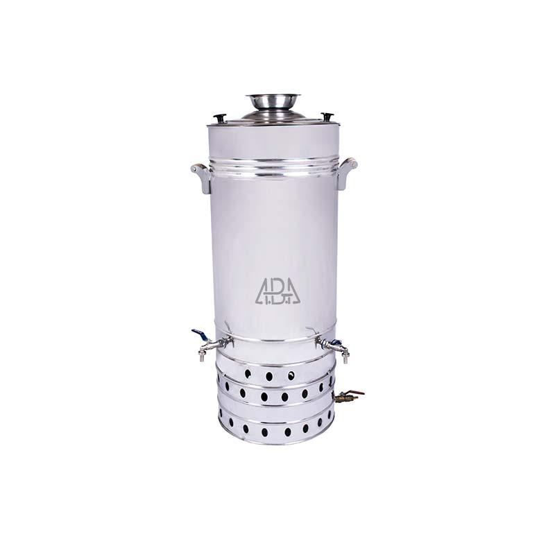سماور گازی صنعتی 120 لیتری تنوره دار