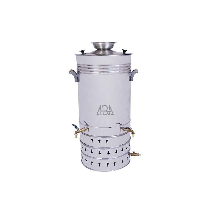 سماور گازی صنعتی 90 لیتری تنوره دار
