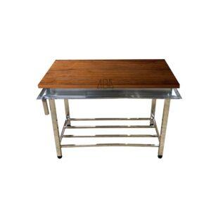 میزکار رویه چوبی 120 سانتی
