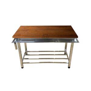 میزکار رویه چوبی 150 سانتی