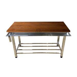 میزکار رویه چوبی 190 سانتی