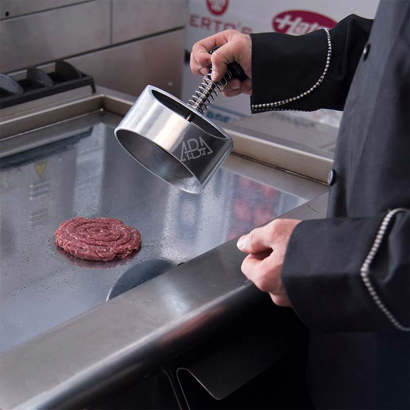 همبرگر زن فلزی 15 سانتی متری