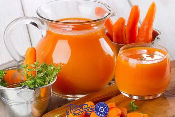 خواص بی نظیر آب هویج برای بدن و پوست