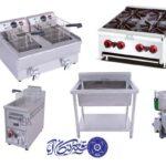 تجهیزات آشپزخانه های صنعتی وارداتی