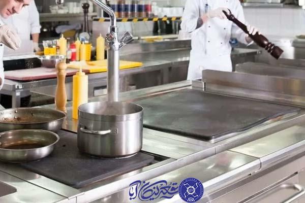 بخش های مهم آشپزخانه صنعتی