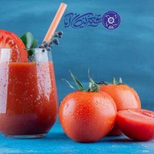 فواید و مضرات آب گوجه